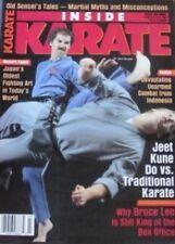 RARE 3/90 INSIDE KARATE  BRUCE LEE JERRY BEASLEY BLACK BELT KUNG FU MARTIAL ARTS
