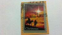 """USA Stamp, FOREVER, CHRISTMAS, 1"""" x 7/8"""", 2012"""