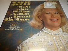 (33 RPM Vinyl Sealed) Dinah Shore - Man around the house 080912JDE