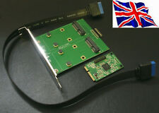 Mini PCI Express to 2 x Mini PCI Express Adapter Card