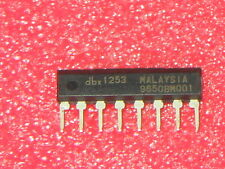 DBX1253 RMS Level Detector for DBX Noise Red. xref SK9879 UPC1253 IX0499CE C1253
