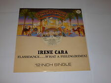 "Irene Cara-Flashdance - 1983 Reino Unido 2-track 12"" SINGLE VINILO"