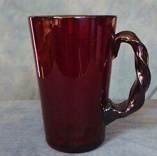 Lovely large Whitefriars Ruby Red Mug.