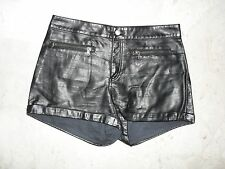 PARTICOLARI PANTALONCINI  SHORTS  IN ECO PELLE DIVIDED H&M  Tg. 44 AFFARE