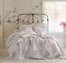 New Simply Shabby Chic Shadow Rose Floral Queen Quilt & Shams Set 3pc