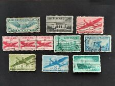 US United States air mail airpost aviation Lot USA