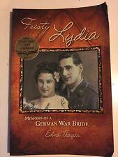 Feisty Lydia Memoirs of a German War Bride Minnesota Author MN Edna Thayer