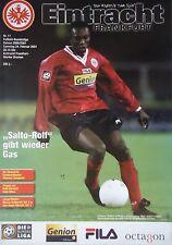 Programm 2000/01 SG Eintracht Frankfurt - Werder Bremen