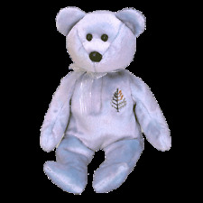 """TY BEANIE BABIES  """"ISSY FOUR SEASONS HOTEL-SINGAPORE THE BEAR RETIRED"""" MINT TAG"""