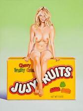 Mel Ramos  - Jujyfruit Judy - 2015, Pop Art Grafik Lithografie, Luxus