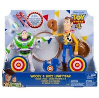 Disney Pixar Toy Story 4 Woody & Buzz Lightyear Arcade 2 Pack Action Figures
