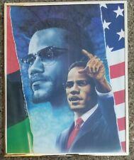 P994 Custom Malcolm X With Gun Classic Actor Movie Poster Art Decor