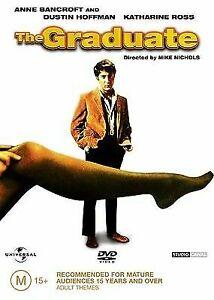 THE GRADUATE DVD 1967 Anne Bancroft, Dustin Hoffman, Katherine Ross - REGION 4