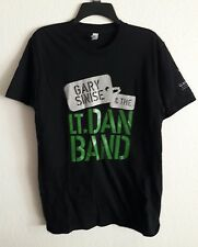Gary Sinise and the LT. DAN BAND T Shirt Size M Black Forrest Gump Movie    T26
