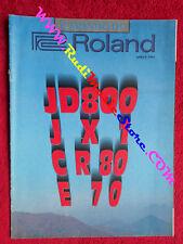rivista IL MONDO DI ROLAND Aprile1991 Francesco Bruno  No cd