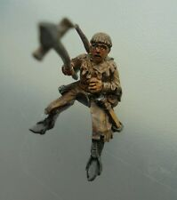 1x squire mounted rider Bretonnian citadel gw metal figure polearm #B