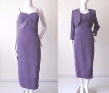 DANIELE BOLEN VINTAGE Made in Australia Dress and Jacket  Size 6 - 8  US 2 - 4