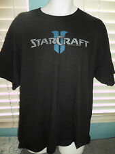 STARCRAFT 2 II LOGO T-Shirt BLACK Gaming SZ: XL - TEE - SOCALSHIRTS619