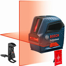 "Bosch GLL50-RT Self-Leveling Cross-Line Laser Kit Factory ""Mfr"" Refurbished"