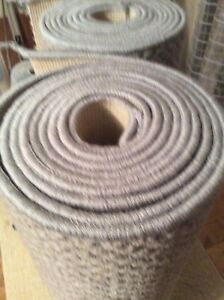 Wool Carpet Stair Runners X2  Grey New