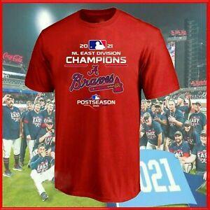 Atlanta Braves Baseball T-Shirt 2021 National League East Champs Fan Gift Tee