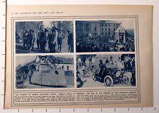 1915 WWI WW1 PRINT ~ CONQUEST OF GERMAN SOUTH-WEST AFRICA GENERAL BOTHA BOWMEN