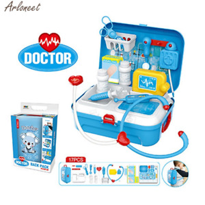 17PC Toy Medical Kit Kids Dentist Doctor Game Gift Toy Decoration Dolls Home Toy