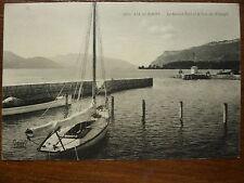 CPA - SAVOIE - AIX-LES-BAINS  le lac du Bourget et le grand port