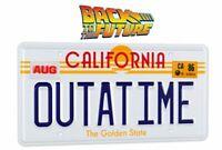 Zurück in die Zukunft Replik 1/1 ´Outatime´ DeLorean Nummernschild