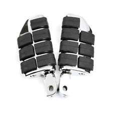 Chrome Front Wide Foot Pegs For 2002-2009 2004 2003 Yamaha Road Star Warrior
