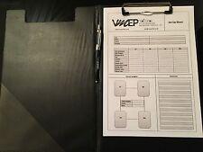 Race Car Set Up Sheets
