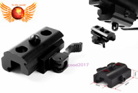 Quick Release 20mm Picatinny rail Bipod Sling Adapter Mount For rifle hunt Alum