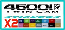 4500i twincam stickers for Toyota Landcruiser - 16 colours