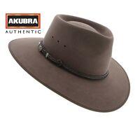Akubra Cattleman Hat - Australian Made - Fawn Coloured Rabbit Fur NEW