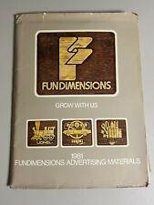 Fundimensions MPC Craft Master 1981 Toy Fair Catalog (Rare)