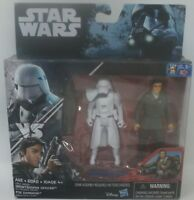 Star Wars The Force Awakens First Order Snowtrooper Officer and Poe Dameron
