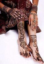 Reino Unido Lab Tested, Marrón Oscuro 100% Natural Henna Mehndi Tatuaje Conos Pasta De Cono