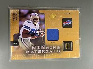 Terrell Owens 2009 SPx Jersey Patch Dallas Cowboys Bills 94/99 N20