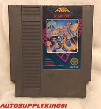 MEGA MAN 1 (Nintendo NES, 1987) Video Game Cartridge First Print 100% Tested