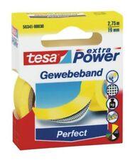 Tesa Tape ® 56341-00030 Woven 2, 75mx19mm Yellow Premium Power Adhesive