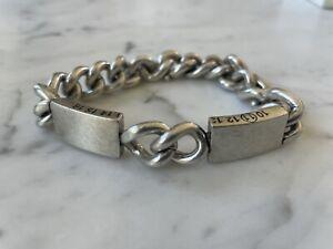 MAISON MARGIELA ID Bracelet with Divided Plaque L NIB!