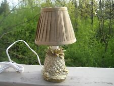 ACCENT TABLE LAMP NIGHT LIGHT FEATURING PALM TREE PINEAPPLE Tropical  CBK