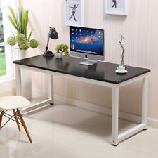 computer desk pc laptop table wood workstation study desk home office furniture
