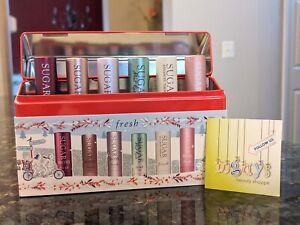 FRESH Sugar Lip Bestsellers Treatment Tin Set of 6 HONEY MINT - 2.2 g / 0.07 oz