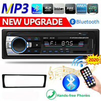"1 DIN 4.1"" Bluetooth Car Stereo MP5 Player USB TF AUX FM Radio Audio Head Unit"