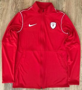 AS Cannes France rare mens Nike Tracksuit Track Top sweater size M