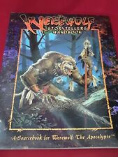 Werewolf Storytellers Handbook (Werewolf Apocalypse) VERY Light Water Damage
