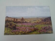 A R QUINTON Postcard 1286 THE SOUTH DOWNS FROM ASHDOWN FOREST  §A2895