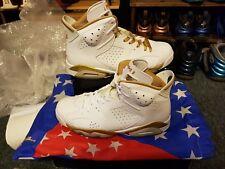 Nike Air Jordan 6 VI GMP Golden Moments Pack White Gold - Sz 9US