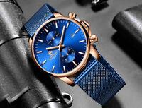 Casual MvMt Style CHEETAH Chronograph Fashion Smart Quartz Stainless Steel Watch